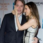 Sarah Jessica Parker clings to Matthew Broderick at the premiere of Wonderful World  37791