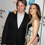 Sarah Jessica Parker clings to Matthew Broderick at the premiere of Wonderful World  37785