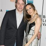 Sarah Jessica Parker clings to Matthew Broderick at the premiere of Wonderful World  37784