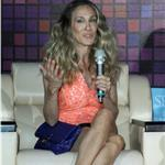 Sarah Jessica Parker speaks during a press conference in Taipei 90778