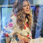 Sarah Jessica Parker on morning television promoting The Morgans 52336