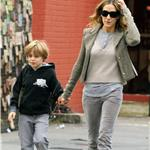Sarah Jessica Parker takes son James Wilkie to school after the Empire State Pride event the night before  70930