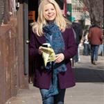 Megan Hilty arrives to shoot Smash in NYC 108743