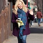 Megan Hilty arrives to shoot Smash in NYC 108744