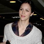 Katharine McPhee leaving LAX on her way to New York 106698