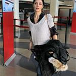 Katharine McPhee leaving LAX on her way to New York 106702