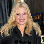 Megan Hilty at the Today Show studios in NYC 107759