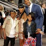 Will Smith and family at Karate Kid premiere in London 65289