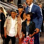 Will Smith and family at Karate Kid premiere in London 65290