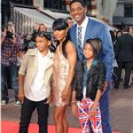 Will Smith and family at Karate Kid premiere in London 65291