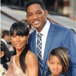 Will Smith and family at Karate Kid premiere in London 65292