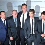 Cast of The Social Network at NBR gala 76635