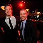 Justin Timberlake and Armie Hammer at Producers' Guild Awards 77399