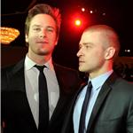 Justin Timberlake and Armie Hammer at Producers' Guild Awards 77401