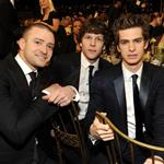 Justin Timberlake, Jesse Eisenberg, Andrew Garfield at the SAG Awards 2011 77859