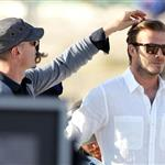 David Beckham shoots Pepsi ad on the beach with Sofia Vergara  82224