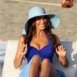 David Beckham shoots Pepsi ad on the beach with Sofia Vergara  82231