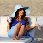 David Beckham shoots Pepsi ad on the beach with Sofia Vergara  82232