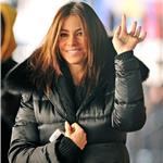 Sofia Vergara in New York on the set of New Year's Eve  78181