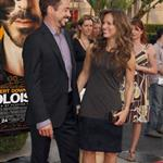 Robert Downey Jr and his wife at The Soloist premiere in LA 37205