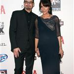 Kurt Sutter and Katey Sagal at the Sons Of Anarchy Season 5 premiere 125804