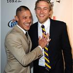 Theo Rossi, Charlie Hunnam at Season 4 premiere of Sons of Anarchy  92998