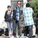 Charlie Hunnam and guest star Ashley Tisdale shoot Sons Of Anarchy Season 5  118546