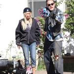 Charlie Hunnam and guest star Ashley Tisdale shoot Sons Of Anarchy Season 5  118552
