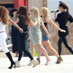 The Spice Girls rehearse for Olympics closing ceremony  122968