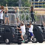 The Spice Girls rehearse for Olympics closing ceremony  122970