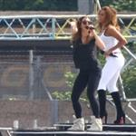 The Spice Girls rehearse for Olympics closing ceremony  122975