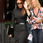 Victoria Beckham at the press launch of Viva Forever at the St Pancras Renaissance Hotel 118594