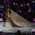 British supermodel Naomi Campbell during the Closing Ceremony of the London 2012 Olympic Games 123091
