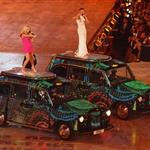 The Spice Girls perform during the Closing Ceremony of the London 2012 Olympic Games 123100