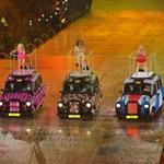 The Spice Girls perform during the Closing Ceremony of the London 2012 Olympic Games 123102