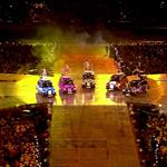 The Spice Girls perform during the Closing Ceremony of the London 2012 Olympic Games 123103