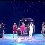 The Spice Girls perform during the Closing Ceremony of the London 2012 Olympic Games 123104