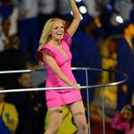 The Spice Girls perform during the Closing Ceremony of the London 2012 Olympic Games 123115
