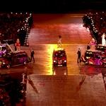 The Spice Girls perform during the Closing Ceremony of the London 2012 Olympic Games 123135
