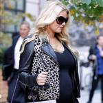 Pregnant Jessica Simpson in New York  97109