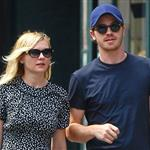 Kirsten Dunst and Garrett Hedlund out in NYC 117095