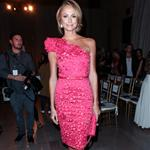 Stacy Keibler at  Mercedes-Benz New York Fashion Week Spring/Summer 2013 – Marchesa show 126170