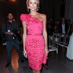 Stacy Keibler at  Mercedes-Benz New York Fashion Week Spring/Summer 2013 – Marchesa show 126171