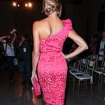 Stacy Keibler at  Mercedes-Benz New York Fashion Week Spring/Summer 2013 – Marchesa show 126173