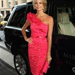 Stacy Keibler at  Mercedes-Benz New York Fashion Week Spring/Summer 2013 – Marchesa show 126175
