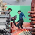 Benedict Cumberbatch fights Zachary Quinto in Star Trek first set shots 107673