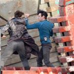 Benedict Cumberbatch fights Zachary Quinto in Star Trek first set shots 107675