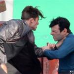 Benedict Cumberbatch fights Zachary Quinto in Star Trek first set shots 107678
