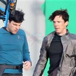 Benedict Cumberbatch fights Zachary Quinto in Star Trek first set shots 107679