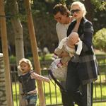 Gwen Stefani and Gavin Rossdale spend Thanksgiving with sons Kingston and Zuma at park 28275